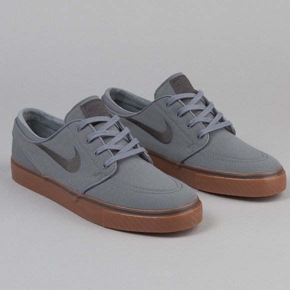 9658339bf36 Nike SB Air Zoom Stefan Janoski Canvas Grey Sz 8.5.  M 5b145bb63e0caa0d1019bb52